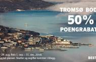 SAS Point Bargains – 50% rabatt på bonusreiser