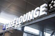 SAS stenger Café lounge på Vigra