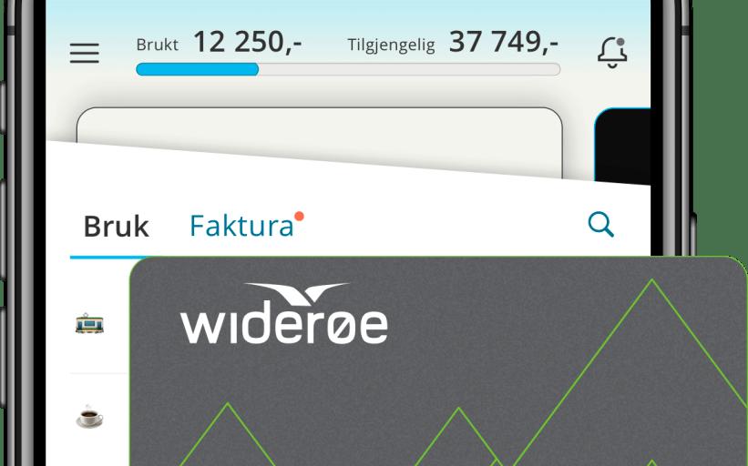 Slik blir det nye Widerøe-kredittkortet