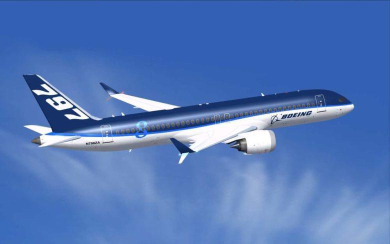 Foto: Boeing Boeing 797 lanseringen