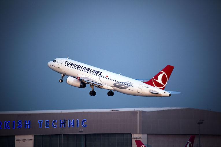 hos Turkish Airlines