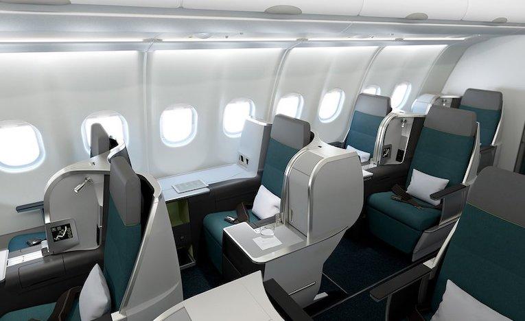 Business class på A321LR