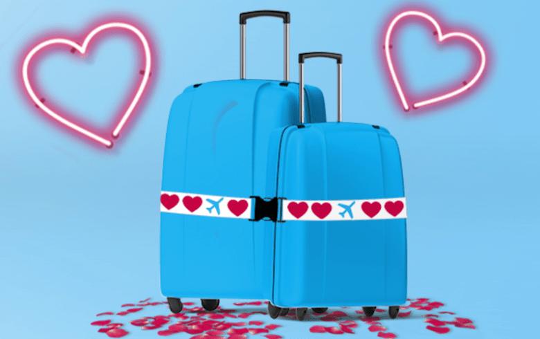 KLM Valentines tilbud