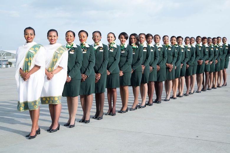 Kvinnefly fra Ethiopian Airlines
