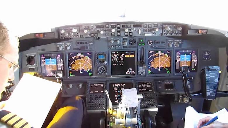 KLM pilot