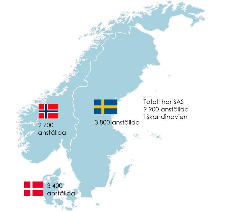 Skandinavia isoleres
