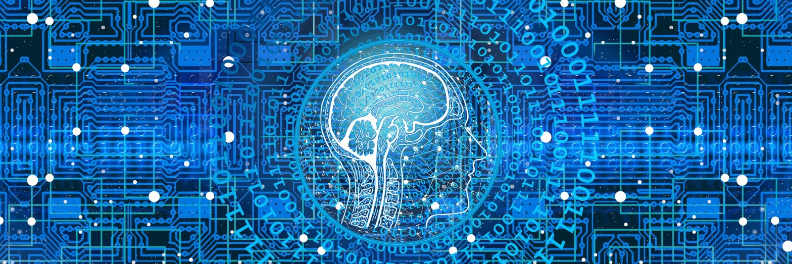 Illustration of a brain in a networked environment