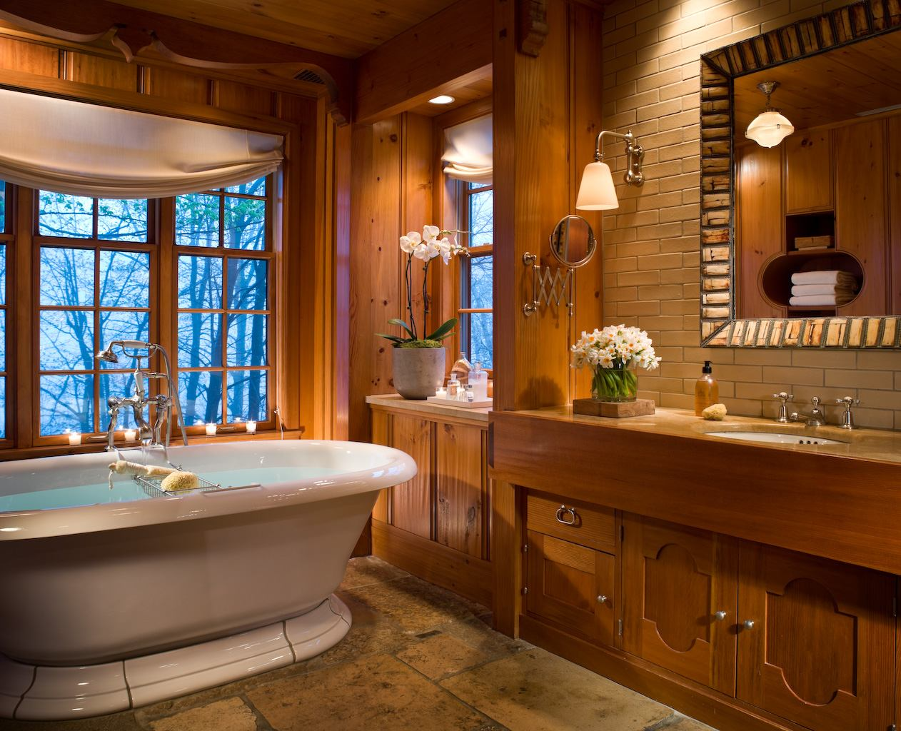 Best Kitchen Gallery: The Best Hotel Bathroom Amenities For Fall In New England of New England Bathrooms Designs  on rachelxblog.com