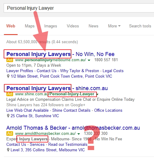 PPC Personal Injury Lawyer