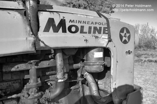Minneapolis Moline 4-star front