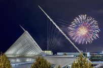Fireworks, Milwaukee Art Museum