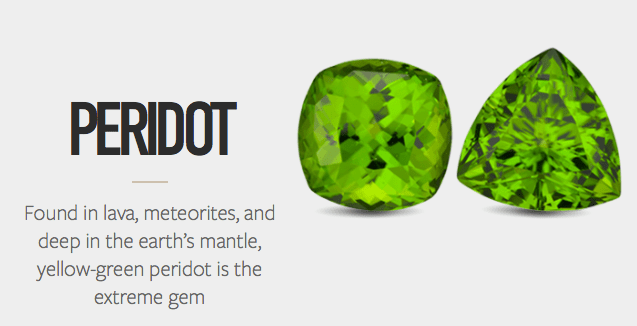 The Unexpected… Peridot and Spinel