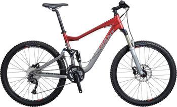 Giant X5 full suspension mountain bike. Image © Giant U.K. Ltd
