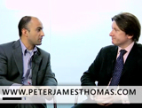 Peter Thomas and Bruno Aziza of Microsoft