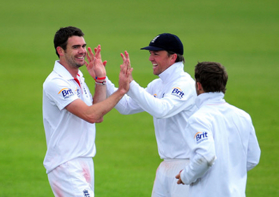 James Anderson and Graeme Swann