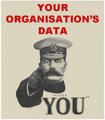 Your organisation's data wants you
