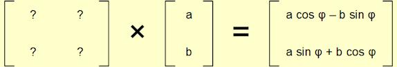 Candidate rotation matrix