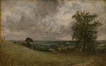 John Constable - West End fields