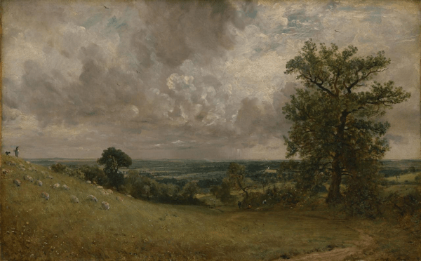 John Constable - West End fields [see Acknowledgements for Image Credit]