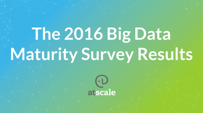 The 2016 Big Data Maturity Survey (by AtScale)