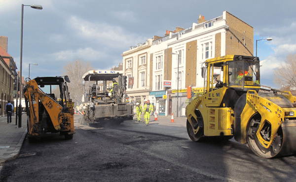 More roadworks