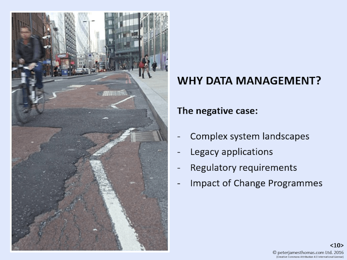 Why Data Management? (Click to view a full-size version as a PDF in a new window).
