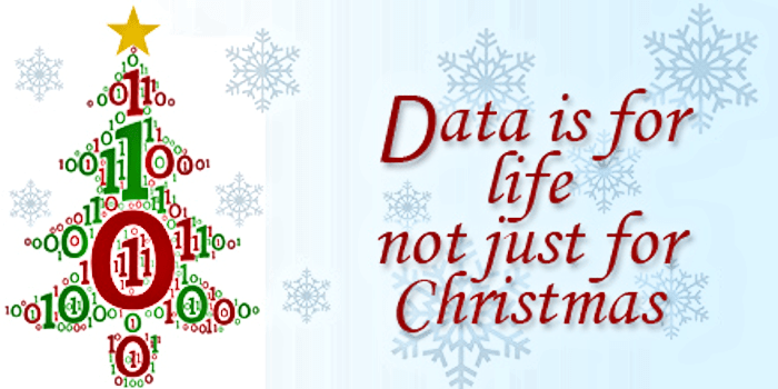 Data is for life...