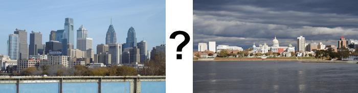 Philadelphia or Harrisburg?