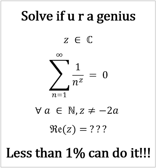 Solve if u r a genius - Less than 1% can do it!!!