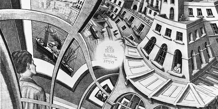 Print Gallery by M. C. Escher, 1956