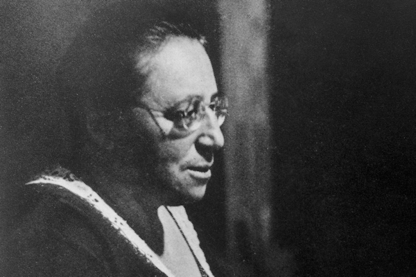 Emmy Noether (see Acknowledgements for Image Credit)