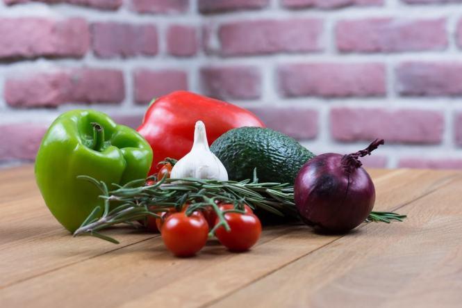건강 채소들