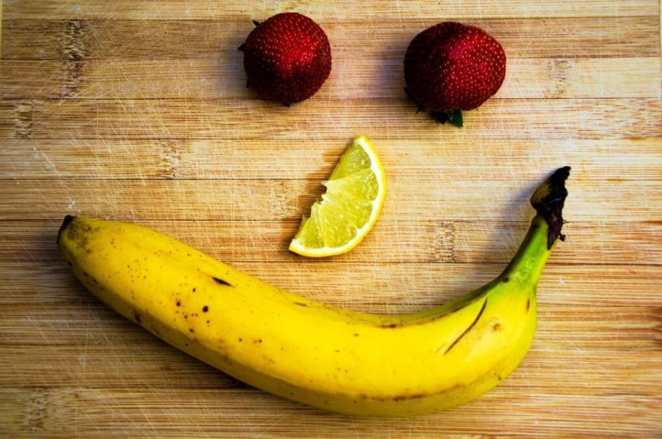 거식증, 다이어트 과일, 바나나, 딸기