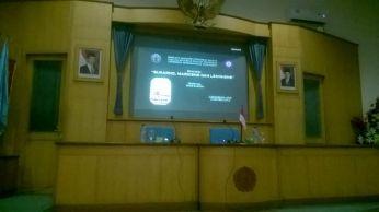 "Bedah Buku ""Sukarno, Marxisme & Leninisme"" di Universitas Muhammadiyah Purwokerto."