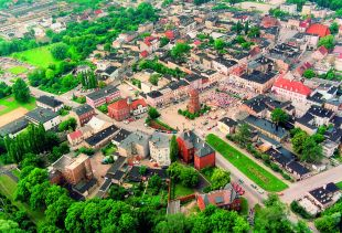 Arial View of Znin
