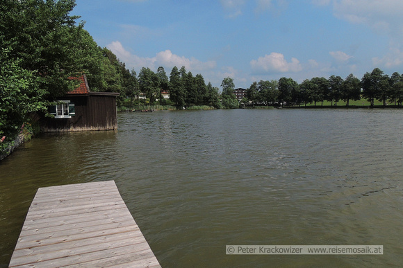 Moorsee-Baden im Holzöstersee Seelentium