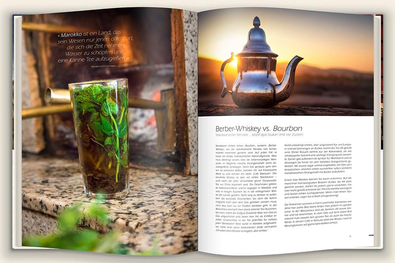 Peter Krackowizer: Marokko, ein Buch von Steffen Burger &emdash; Minztee