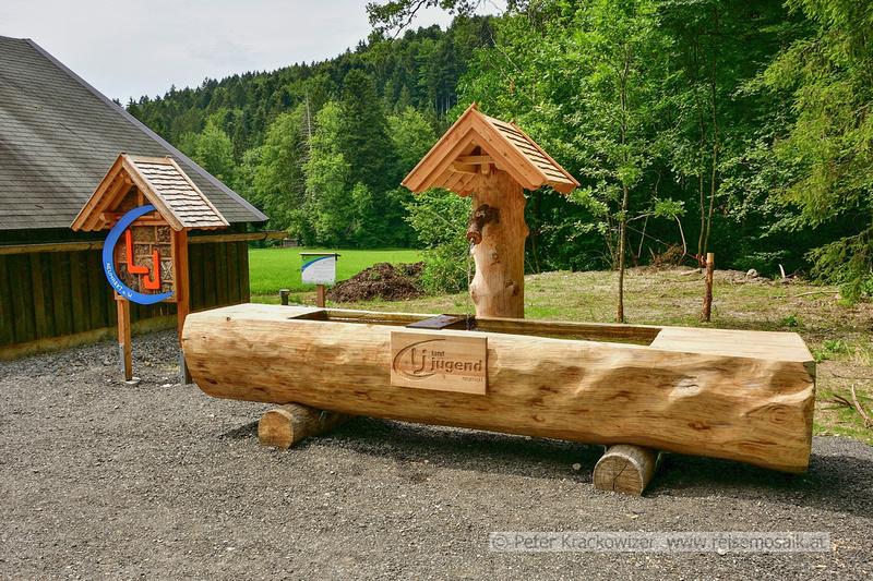 Peter Krackowizer: Neuer Brunnen bei der Jägerwiese &emdash; Bei der Jägerwiese