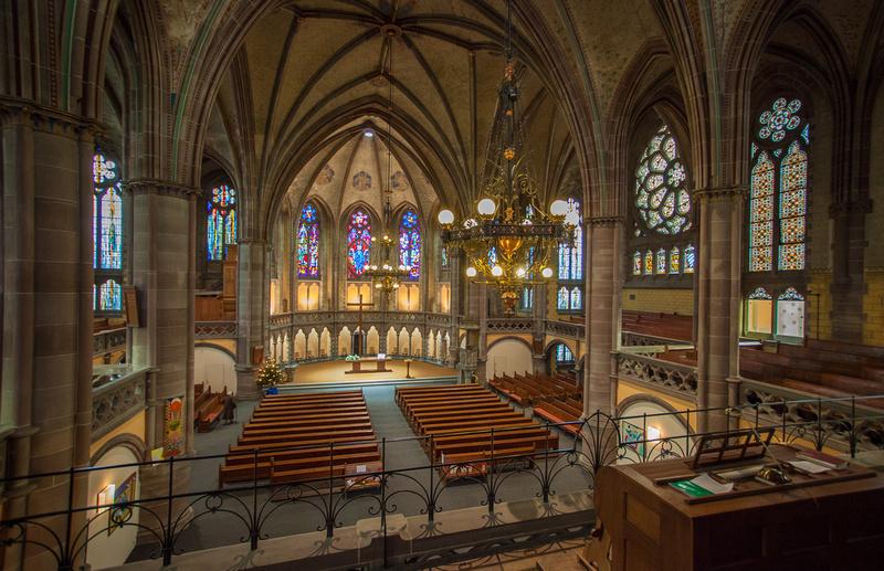 Elsass, Strasbourg - Kirche Saint-Paul (c)Philippe de Rexel OTSR