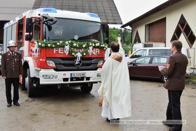 Freiwillige Feuerwehr Neumarkt am Wallersee Fahrzeugweihe