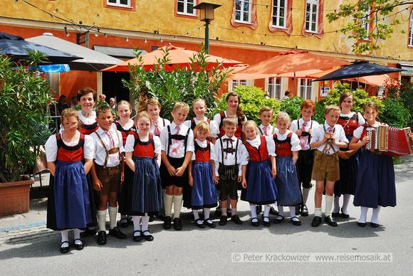 Kindertanzgruppe Heimatverein Edelweiß