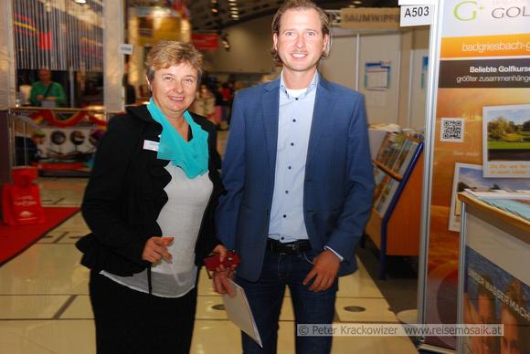 Maria Mader mit Sohn Mag. Hannes Moser