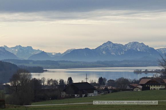 Chiemgauer Alpen Wallersee
