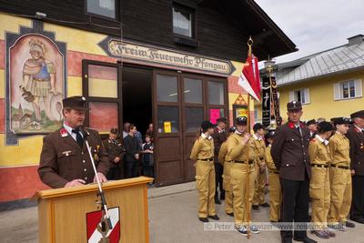 Franz Breitenthaler, Löschzugskommandant dFreiwillige Feuerwehr Pfongau