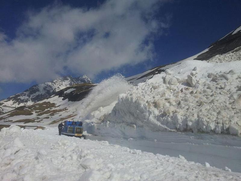 Großglockner Hochalpenstraße Schneeräumung