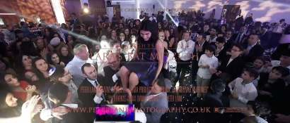 simcha bar mitzvah videographer London  - Kinloss Suite wedding videographer london - videography
