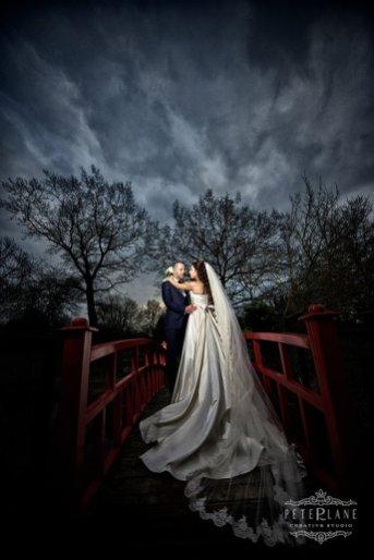 Wedding photographer Sopwell House - the bridge
