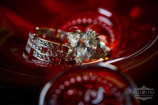 Wedding ring - St Pancras wedding venue