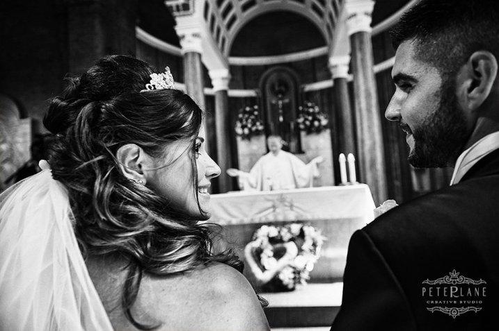 Documentary wedding photographer London