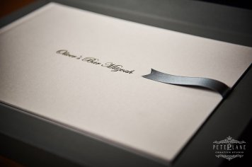 Wedding album design London